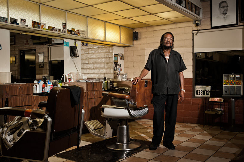 Mack Smith Jr., Barber